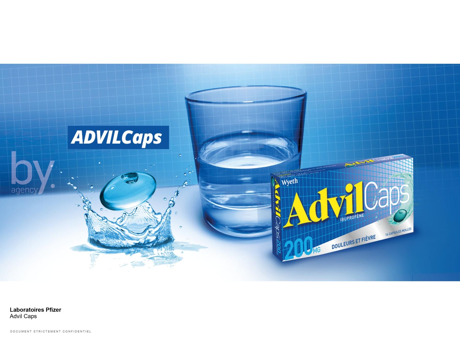 packaging advil caps