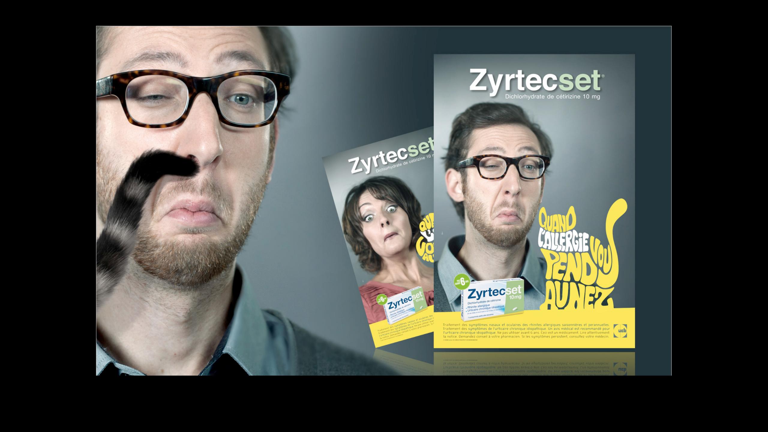produit OTC Zyrtecset by agency