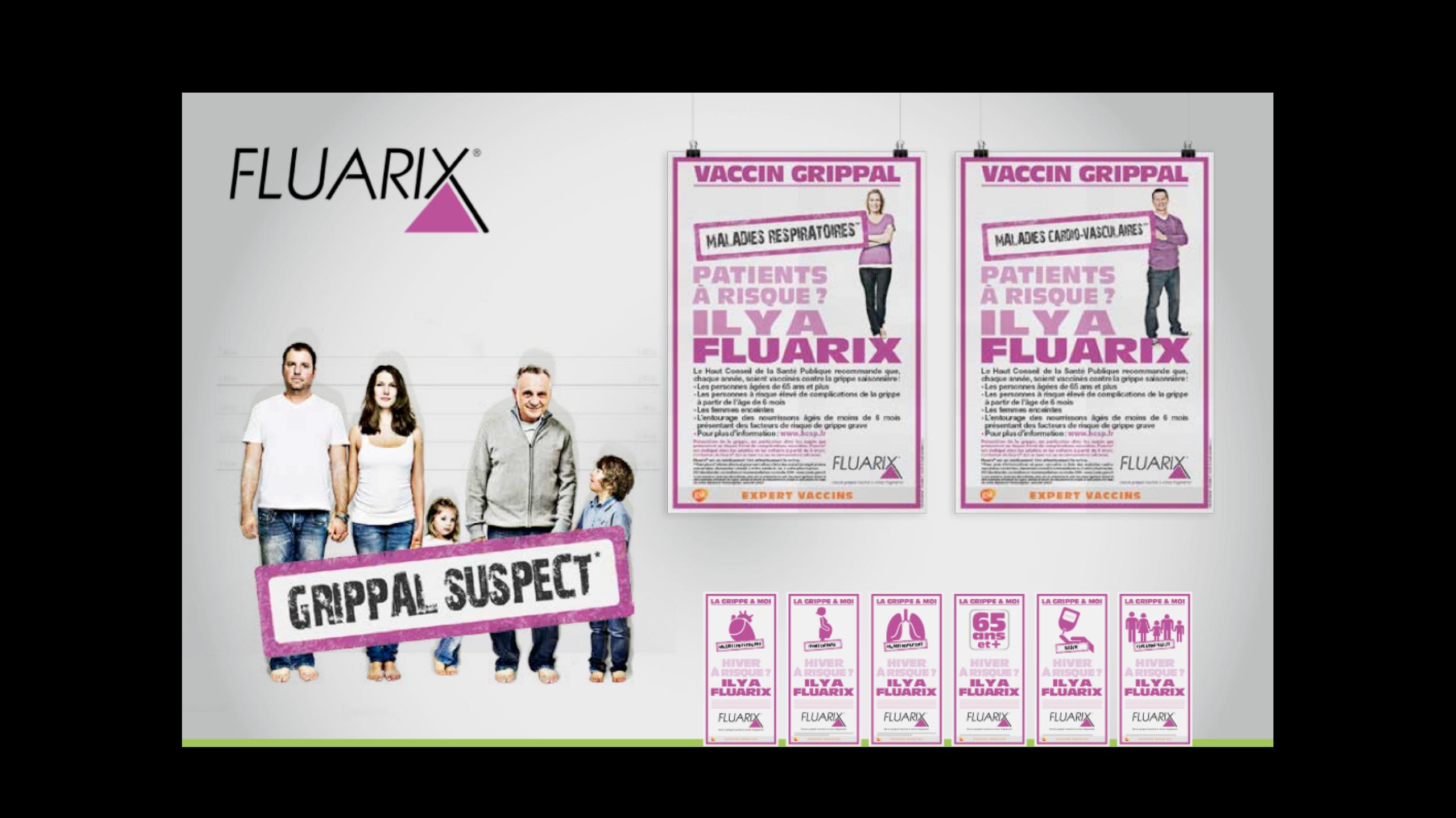 produit éthique Fluarix by agency