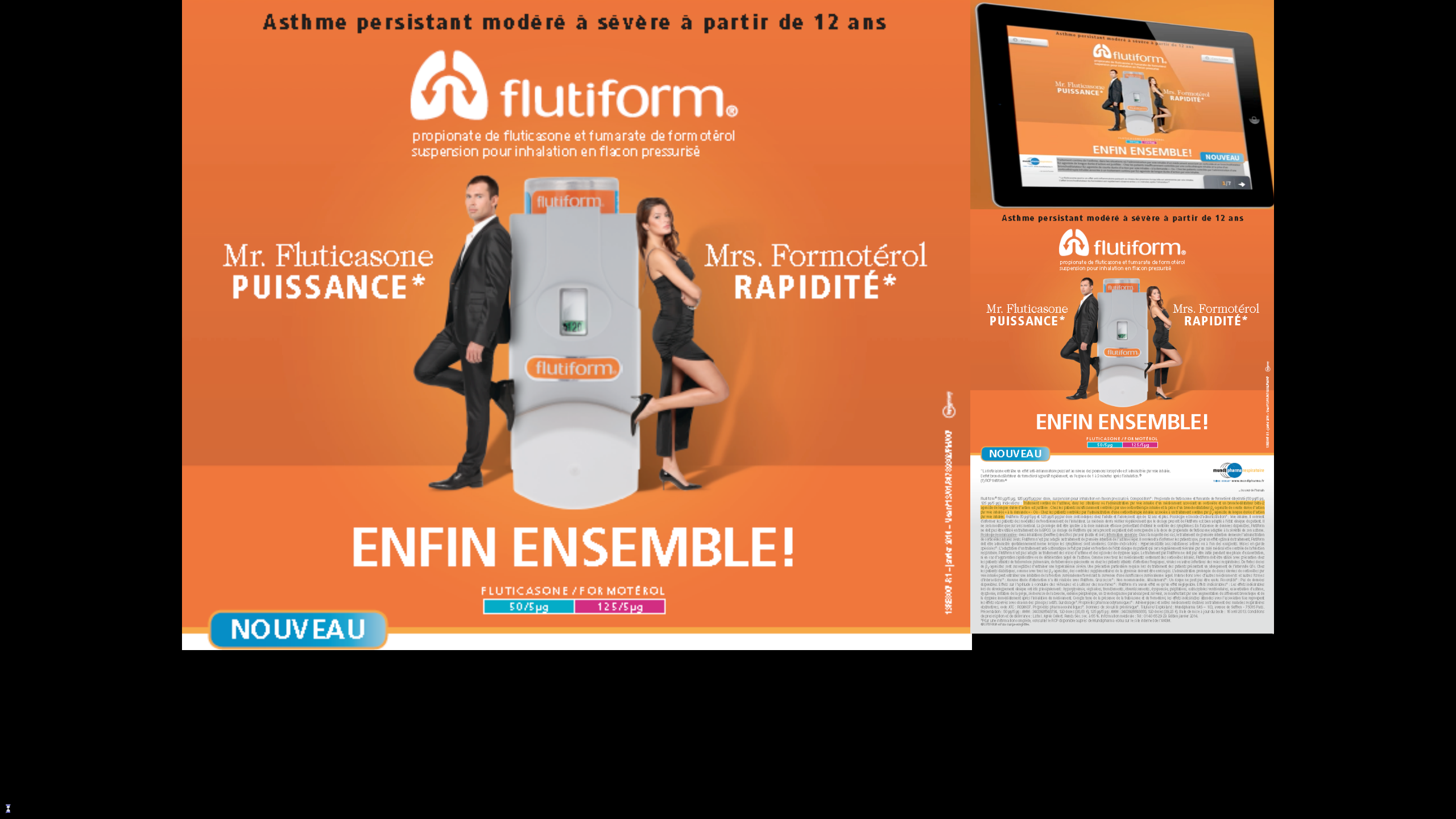 produit ethique Flutiform by agency