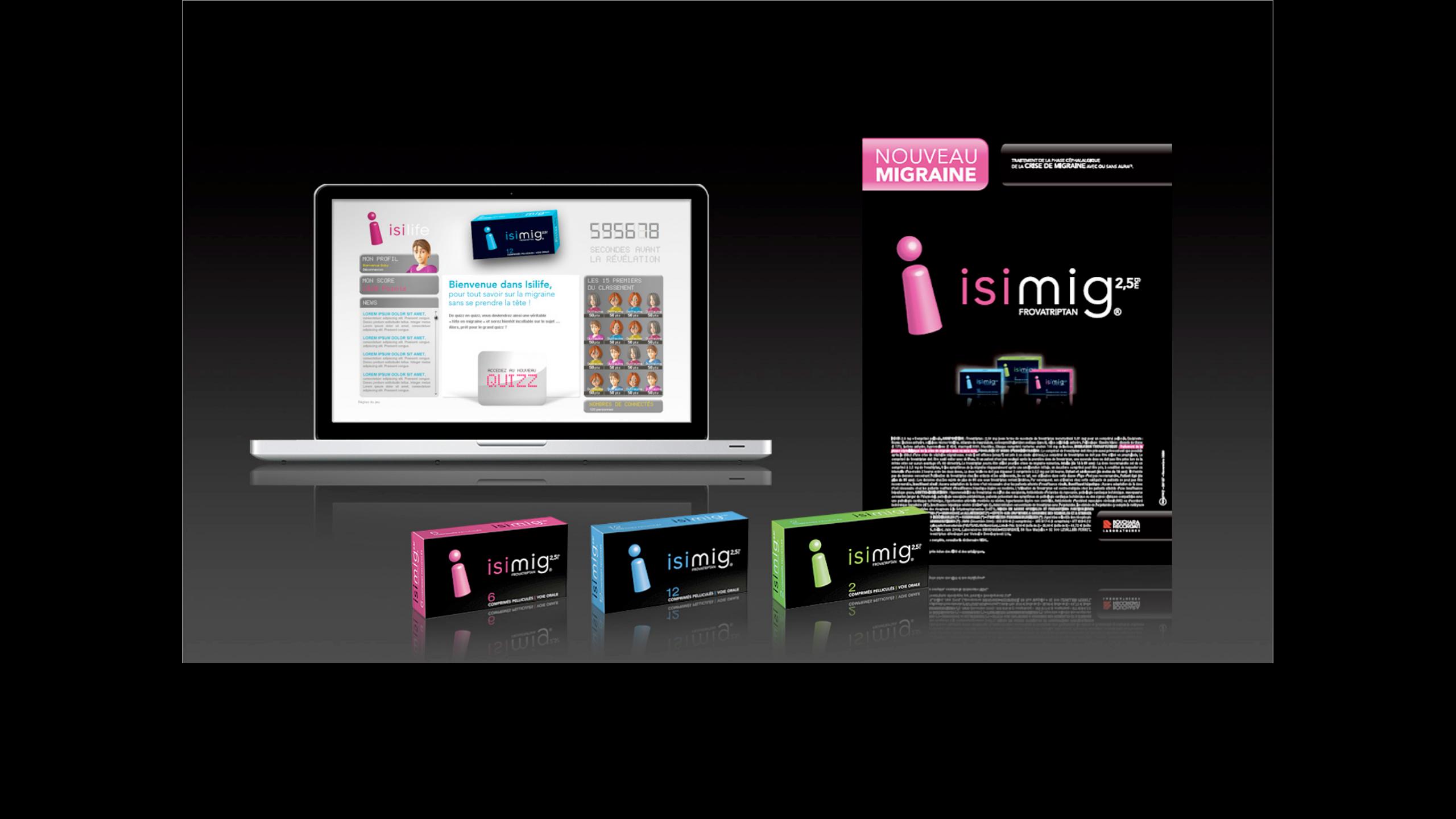 produit éthique Isimig by agency