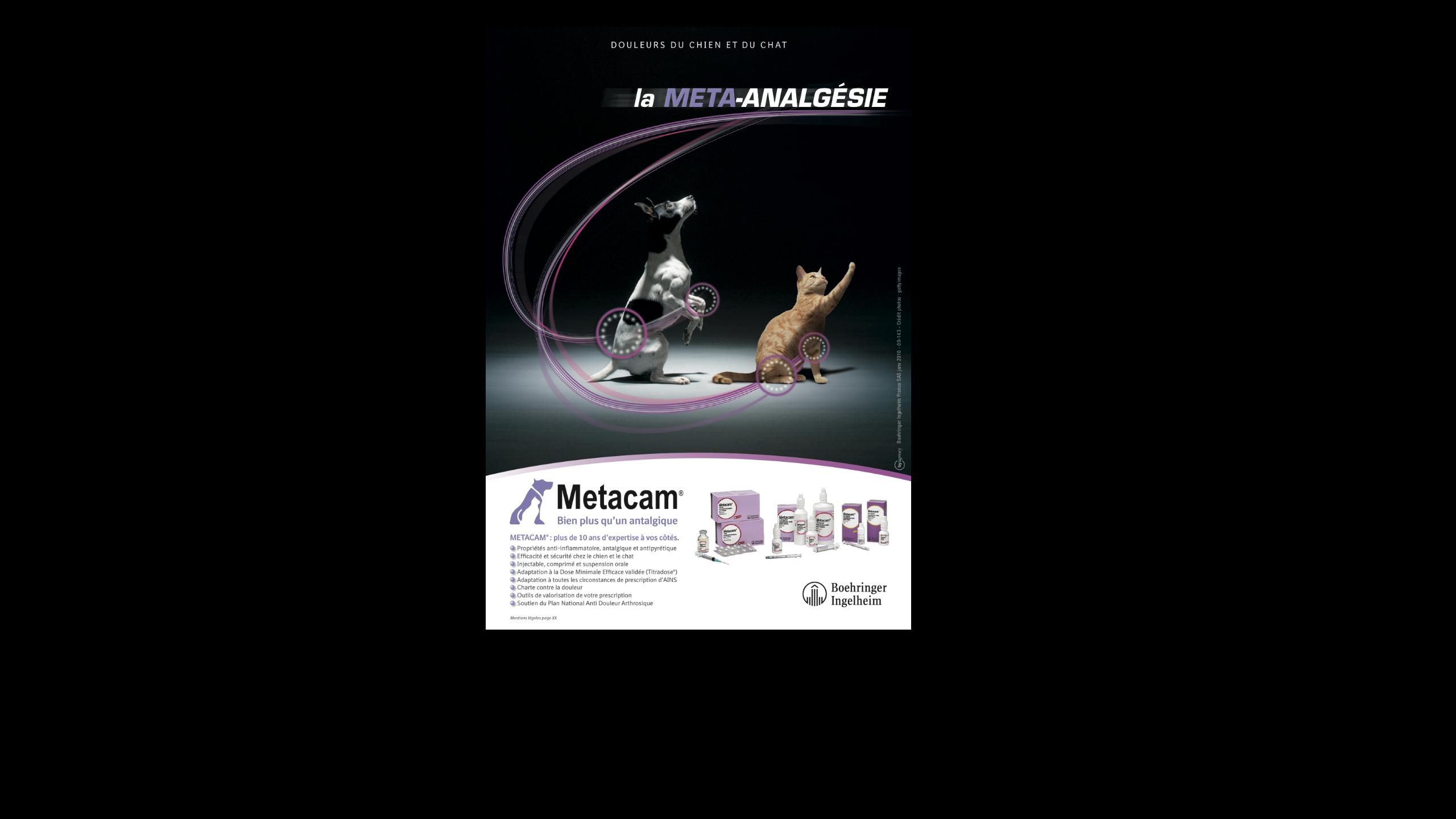 produit éthique Metacam by agency