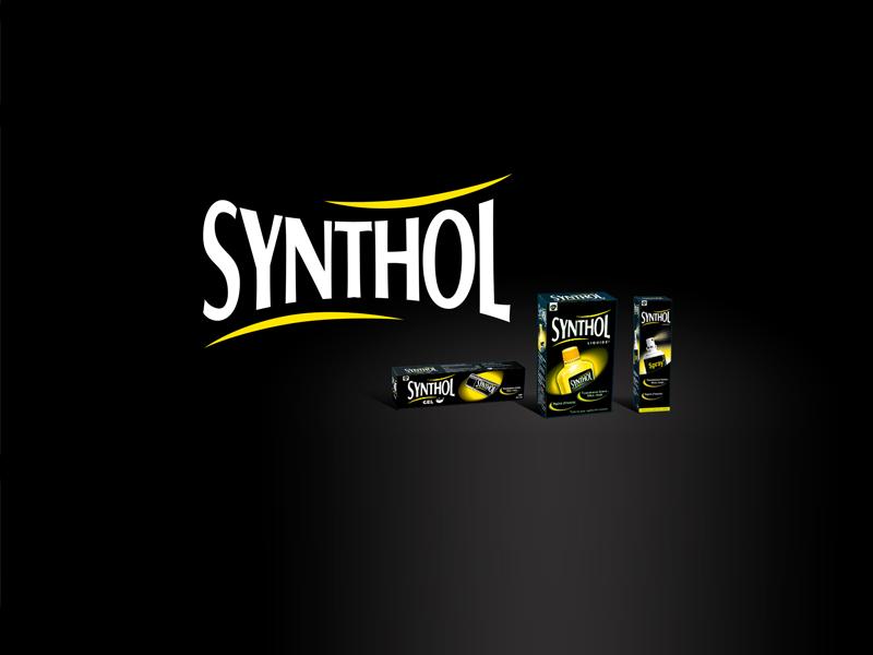 Synthol – GSK - Création de l'identité de marque et graphisme packaging