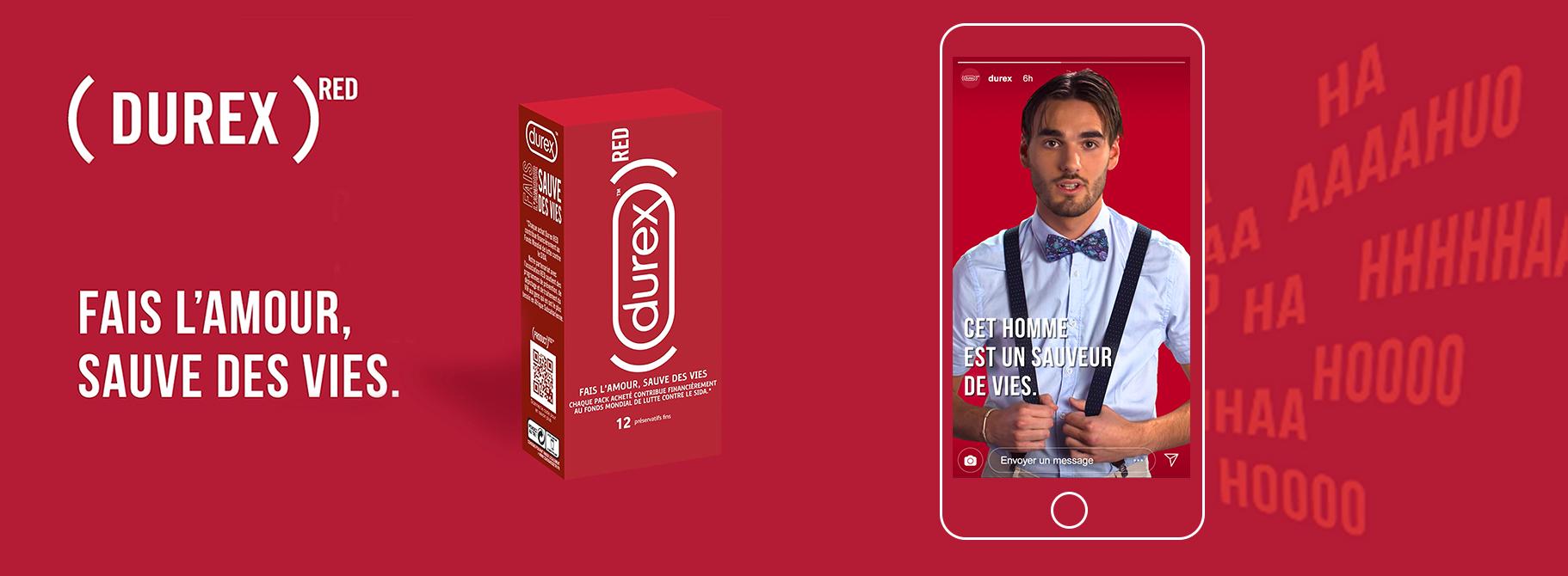 agence digital santé health by agency Durex RED